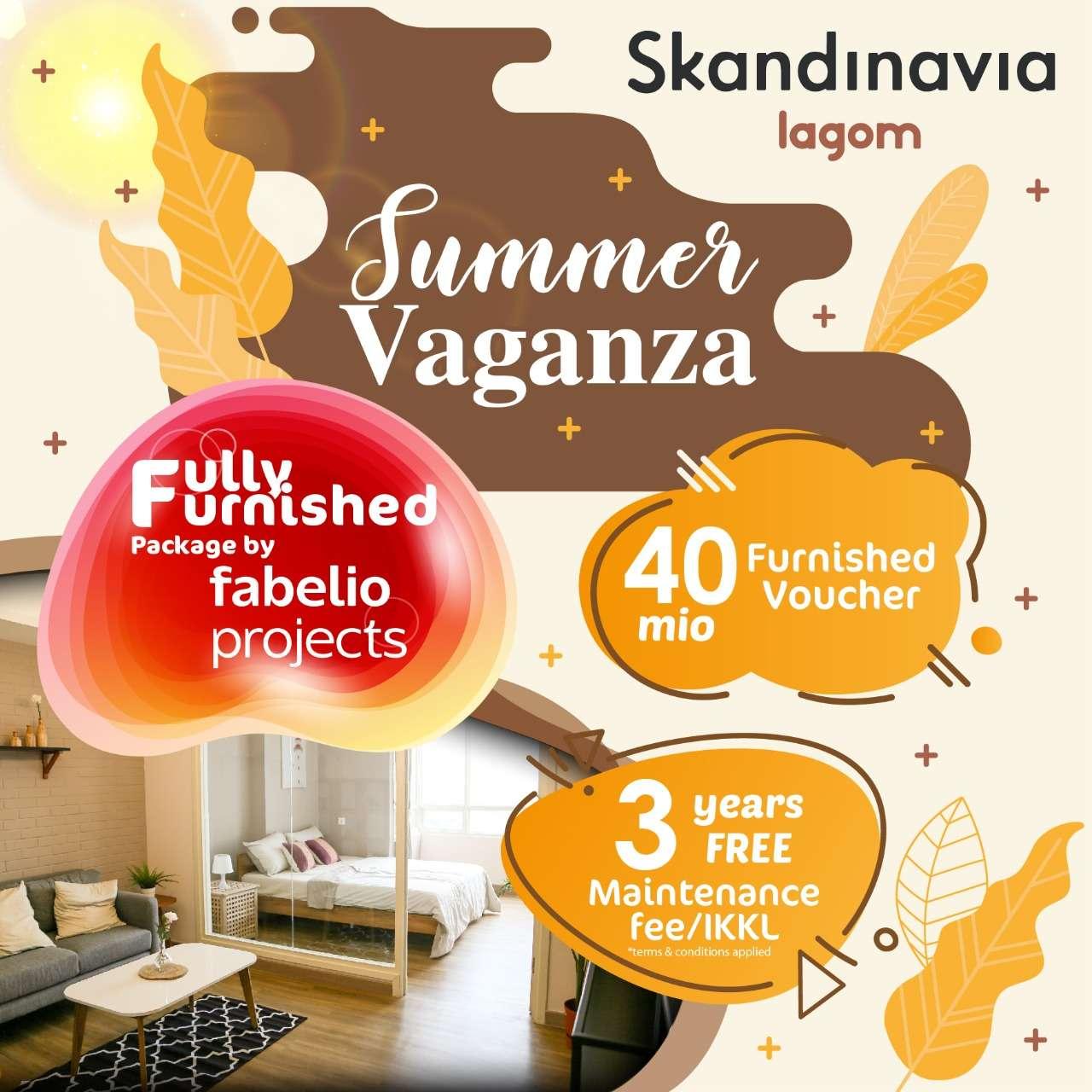 Skandinavia Apartment Summer Vaganza