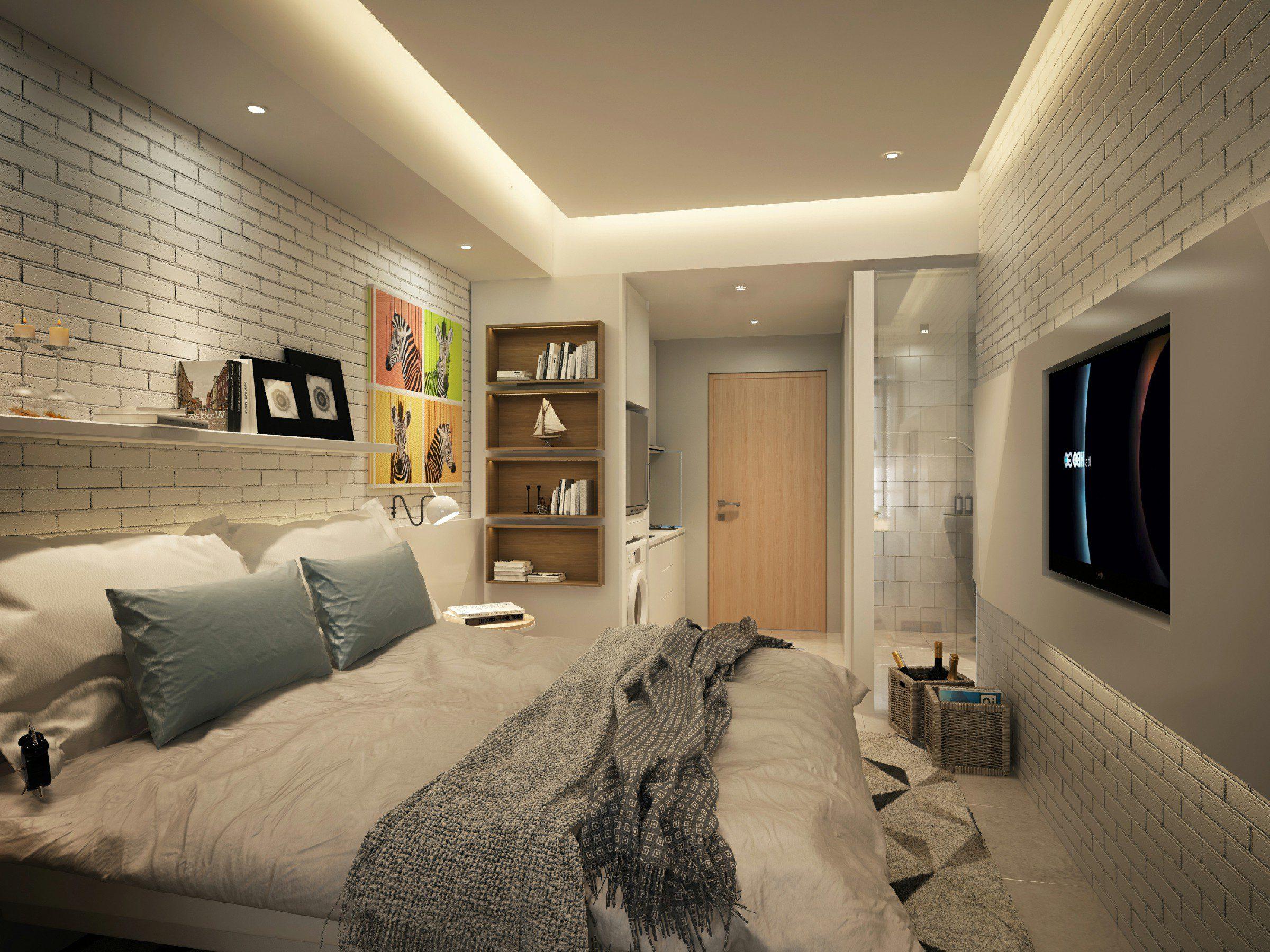 Tips Memaksimalkan Ruangan Apartemen Studio