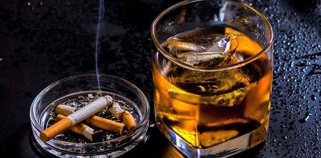 Berhentin meminum alkohol dan merokok