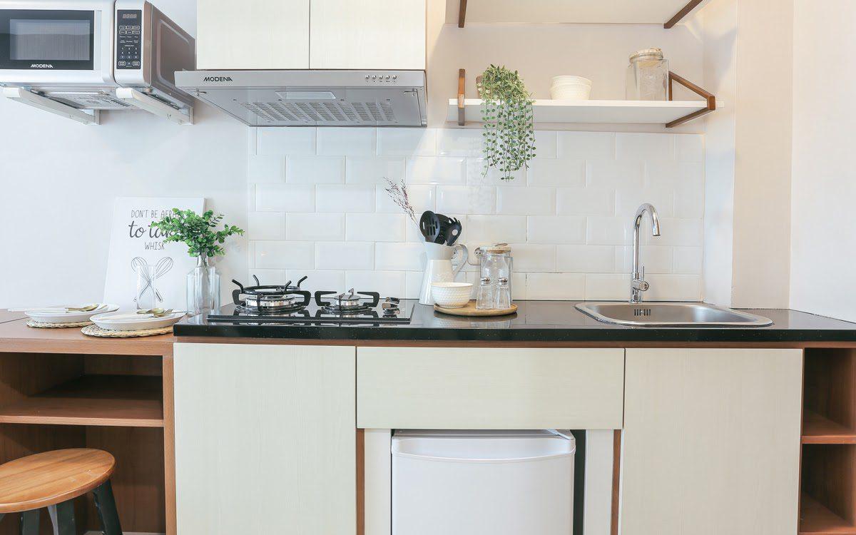 Siasat Menciptakan Ruang Dapur Apartemen yang Nyaman Meski Ruang Terbatas
