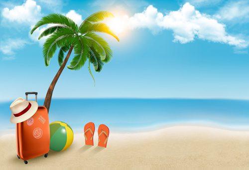 Sandal Jepit & Pakaian Ganti saat ke pantai