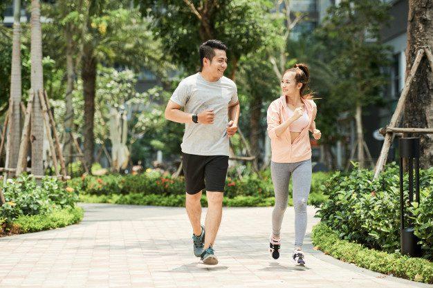 jogging lari pagi