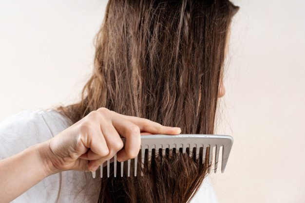 rambut bercabang