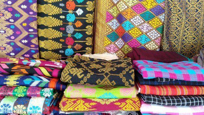 Kain Songket Lombok