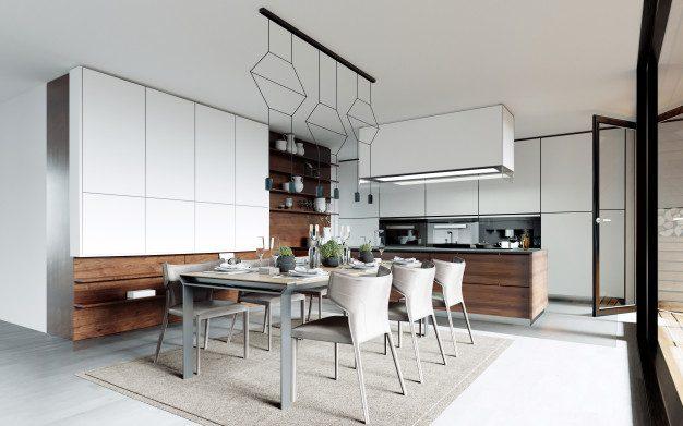 Ide Dekorasi Ruang Makan Untuk Apartemen