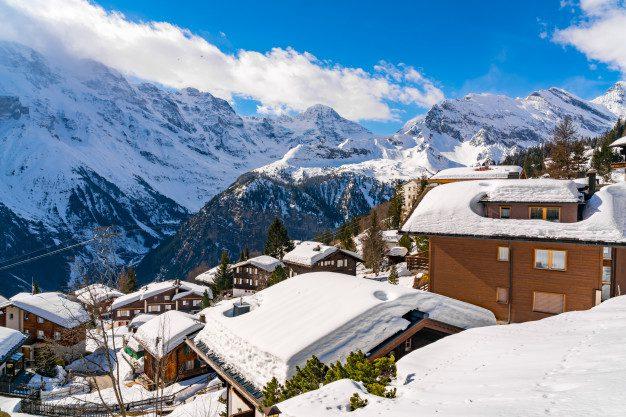 5 Negara Dengan Pemandangan Salju Terindah di Dunia