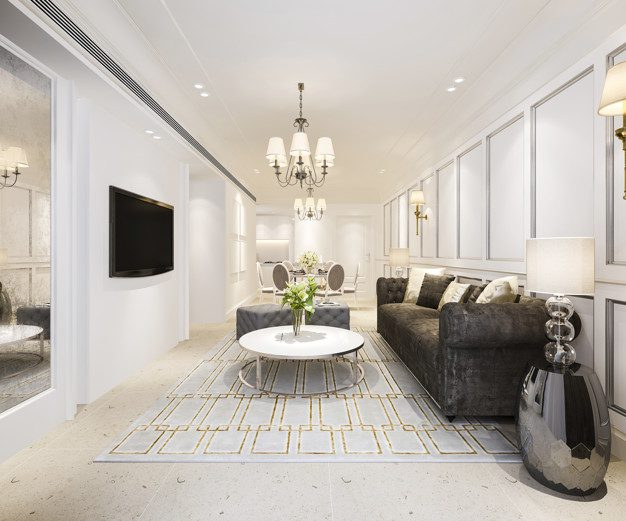 Inspirasi Desain Interior Klasik Modern Untuk Apartemen
