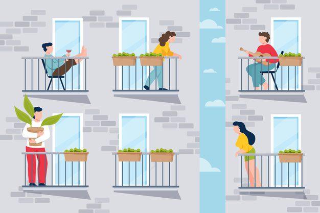 Tips Menata Balkon Apartemen Agar terlihat Rapi Dan Luas