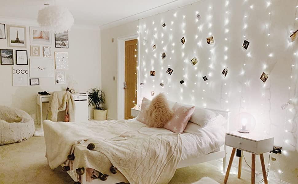 Dekorasi Ruang Tidur Menggunakan Lampu Tumblr