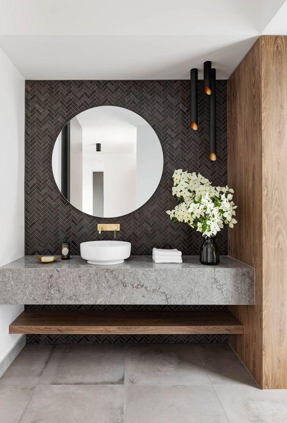 Ide Desain Powder Room Untuk Apartemen