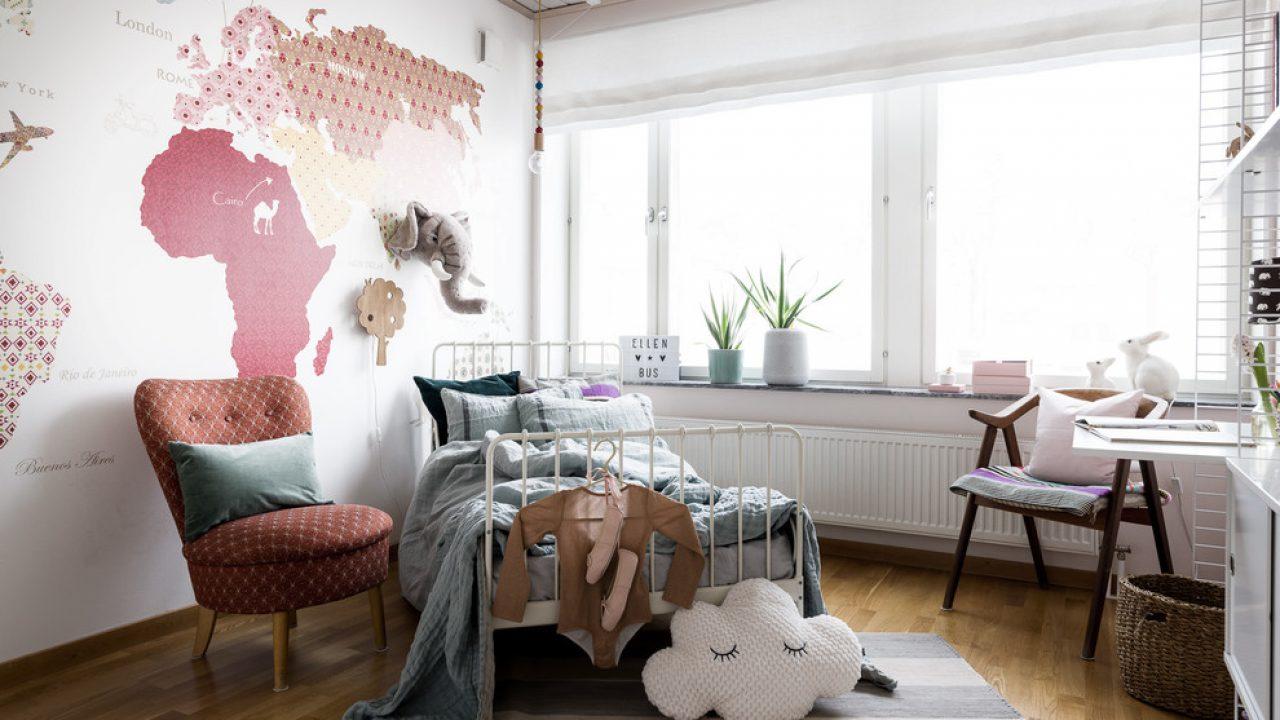 Tips Merancang Gaya Skandinavia Pada Kamar Anak