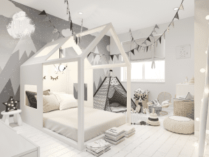 Design Gaya Skandinavia Pada Kamar Anak
