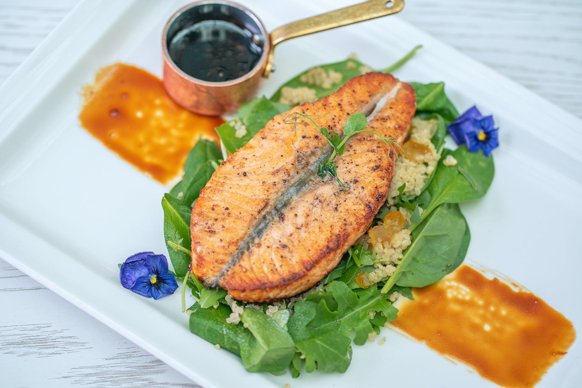 salmon ikan