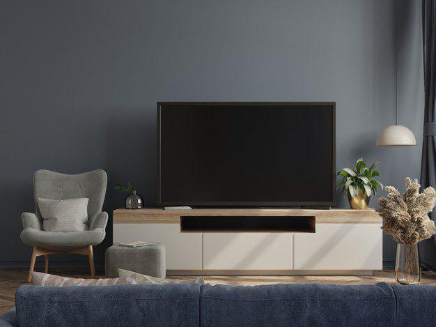 Ide Desain Rak TV Minimalis Untuk Apartemen