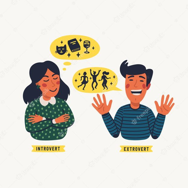 kepribadian introvert dan ekstrovert