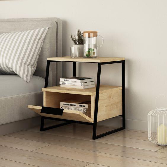 Inspirasi Meja Nakas Untuk Menambah Estetika Ruangan