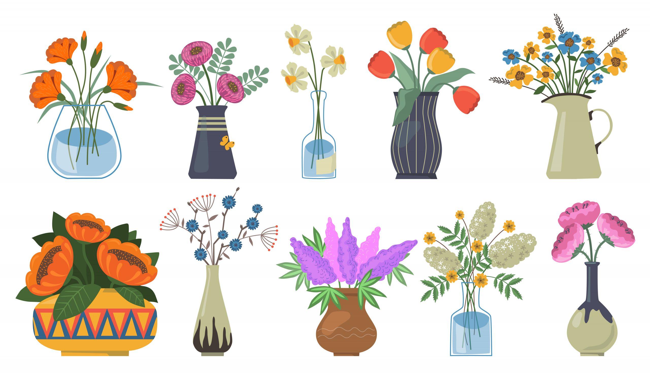 Ide Vas Bunga Unik, Menambah Estetika Ruangan